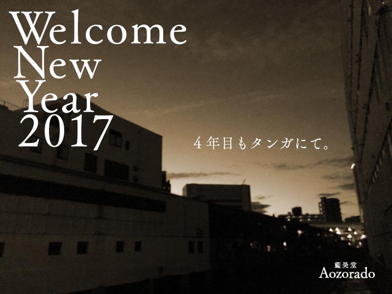 あおぞら日記 2017/1/1 あけましておめでとうございます。